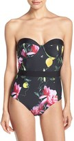 Ted Baker Women's Citrus Bloom One-Piece Swimsuit