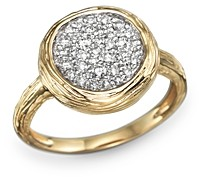 Bloomingdale's Diamond Circle Statement Ring in 14K Yellow Gold, .40 ct. t.w. - 100% Exclusive