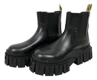 Fendi Black Leather Boots