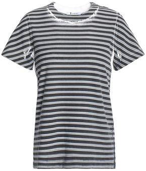 Alexander Wang Printed Cotton-jersey T-shirt