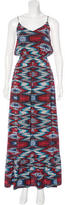 Twelfth Street By Cynthia Vincent Silk Abstract Print Dress