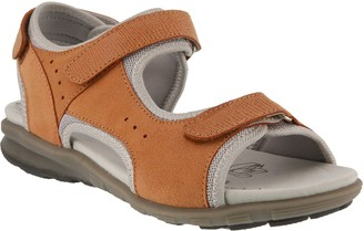 Spring Step Leather Active Sandals - Nonna