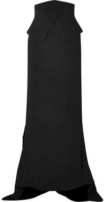 Antonio Berardi Asymmetric Crepe Maxi Skirt