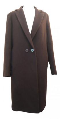Jigsaw Brown Wool Coats