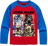 JCPenney Novelty T-Shirts Star Wars Graphic Raglan Tee - Preschool Boys 4-7