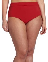 Jantzen Women's Plus-Size Swim Brief Bottom