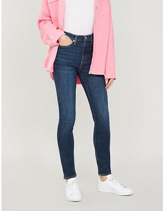 Calvin Klein 010 Skinny High-Rise Jeans