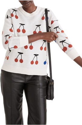 Madewell Cherry Pullover Sweater