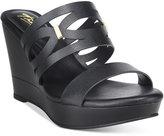 Thalia Sodi Martaa Platform Slide Wedge Sandals, Only at Macy's