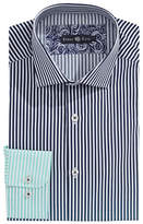 Stone Rose Ombre Stripe Dress Shirt