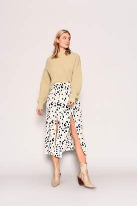 Glamorous Womens **Tonal Dalmatian Skirt By Multi