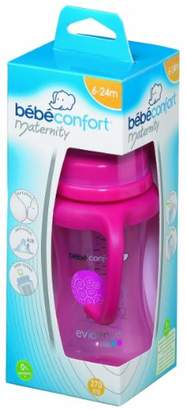 Bebe Confort Bebeconfort 2012 Collection 30000687 Maternity Feeding Bottle Polypropylene/Silicone 270 ml Size 2 Pink