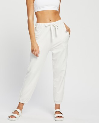 Assembly Label - Women's White Sweatpants - Kin Trackpants - Size 6 at The Iconic