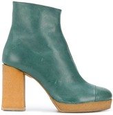 Chalayan Platform 90mm Ankle Boots