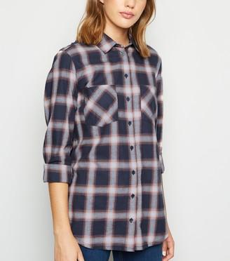New Look Check Long Sleeve Shirt