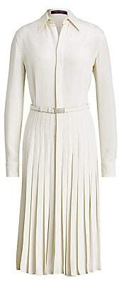 Ralph Lauren Women's Dakota Pleated Shirtdress