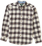 Woolrich Long-Sleeve Trout Run Plaid Flannel Shirt