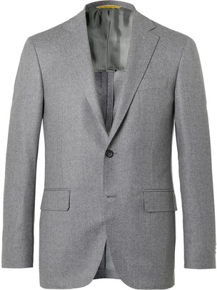 Canali Kei Slim-Fit Unstructured Wool Blazer