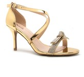 Qupid Embellished Heeled Sandal