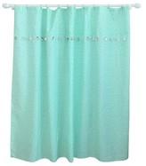 Pillowfort Tassel Shower Curtain Aqua Pool - Pillowfort