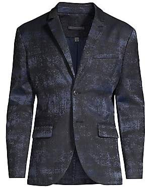 John Varvatos Men's Slim-Fit Fade-Out Jacket