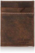 Bill Adler Men's Crazy Horse Front-Pocket Wallet