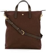 Mismo - top zip shopping bag - men - Leather/Nylon - One Size