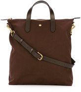 Mismo - top zip shopping bag - men - Nylon/Leather - One Size