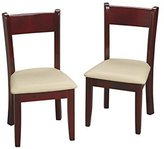 Gift Mark Children's Chair Set with Seat, Cherry by