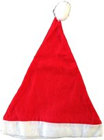Dcolor Felt Santa/Father Christmas Hats (Pack Of 4)