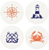 The Well Appointed House Coastal Letterpressed Coasters-Set of 100 - IN STOCK IN OUR GREENWICH STORE FOR QUICK SHIPPING