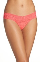 Hanky Panky Women's 'Signature Lace' Low Rise Thong