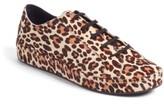 Joie Women's Daryl Low Top Genuine Calf Hair Sneaker