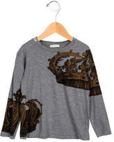 Dolce & Gabbana Boys' Printed Crew Neck Shirt