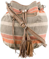 Rebecca Minkoff Striped Canvas Bucket Bag