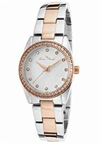 Lucien Piccard Women's LP-40023-SR-22 LaBelle Stainless Steel Casual Watch
