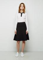 Proenza Schouler Knit A-Line Skirt