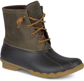 Sperry Women Saltwater Duck Booties Women Shoes