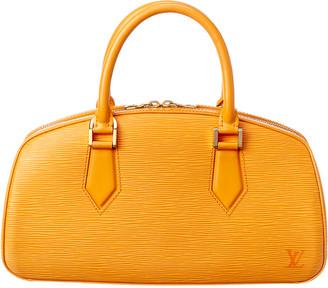 Louis Vuitton Orange Epi Leather Jasmin