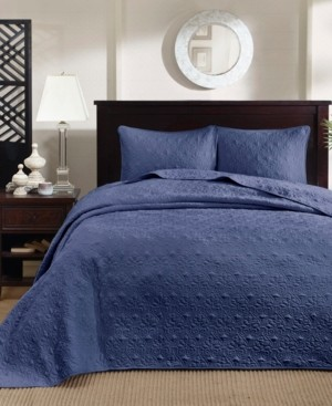 Madison Home USA Quebec 3-Piece Full Quilted Bedspread Set Bedding
