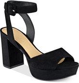 Marc Fisher Meliza Platform Block-Heel Sandals