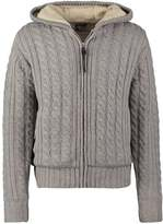Schott Nyc Cardigan Light Grey