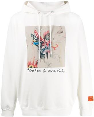 Heron Preston x Robert Nava printed hoodie