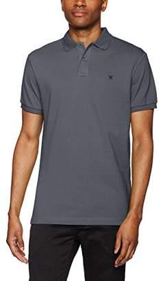 Hackett London Men's Classic Logo Polo Shirt,Medium