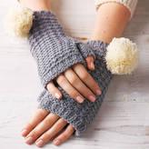 Lowie Pom Pom Fingerless Gloves