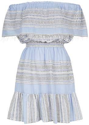 Lemlem Amira Off-The-Shoulder Ruffle Dress