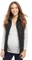 Motherhood Quilted Puffer Maternity Vest