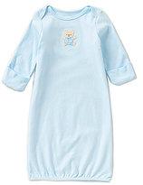 Little Me Newborn-3 Months Cute Bear Gown