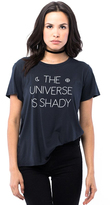 Sub Urban Riot Suburban Riot Universe is Shady Loose Tee in Faded Black