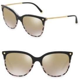 Dolce & Gabbana 55MM Wayfarer Sunglasses